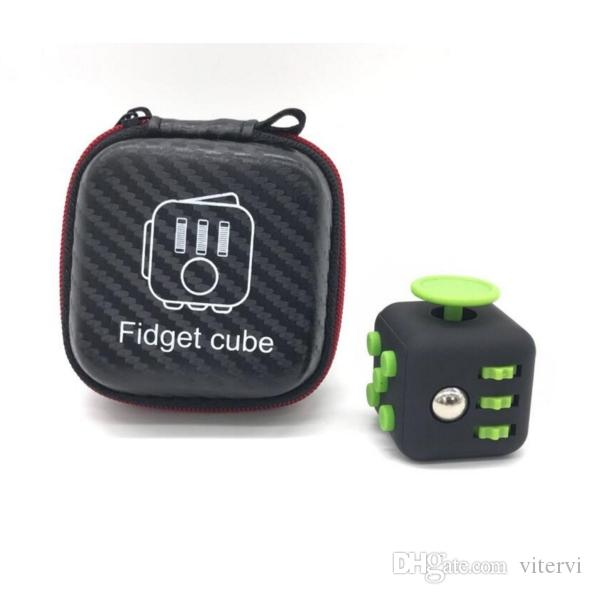 Storage Bag Fidget Cube The Worldu0027S First American Decompression Anxiety  Toys Fidget Cube Bag Free Stress Toys Good Stress Reliever From Vitervi, ...