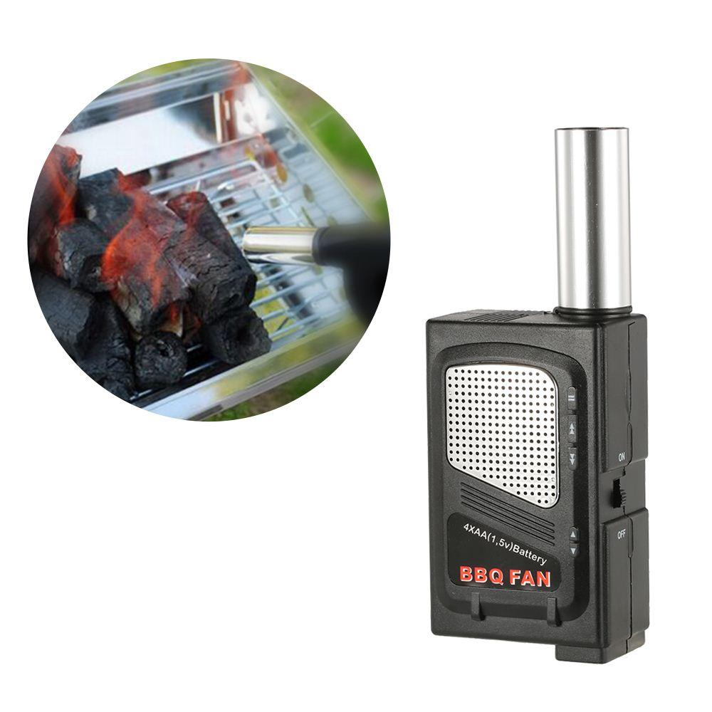 Electricity BBQ Fan Air Blower Ventilator Bellows For Barbecue Fire Bellow Fire Starter Portable Outdoor Camping