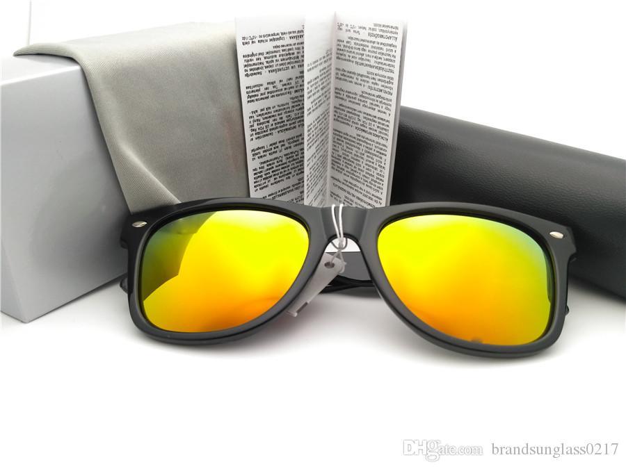 62e4e36f3 Compre Top Qualidade Lente Polarizada Dobradiça De Metal Da Marca Designer  De Óculos De Sol Dos Homens Das Mulheres Quadro Prancha Esporte Óculos  Vintage ...