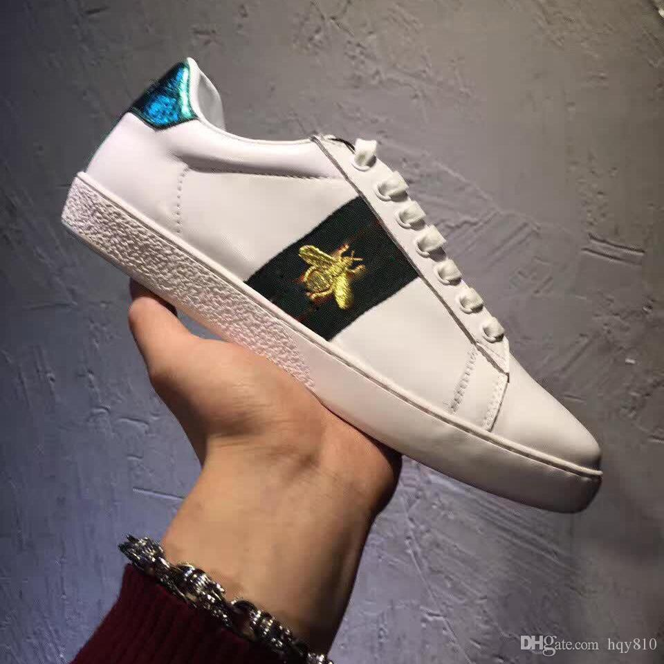 Embroidered Bee Men Shoes Man Casual Shoes Genuine Leather Brand Fashion  Male Shoe High Quality Cow Leather Man Selling Model 158496397 Shoes For  Men Sports ... 170858476941