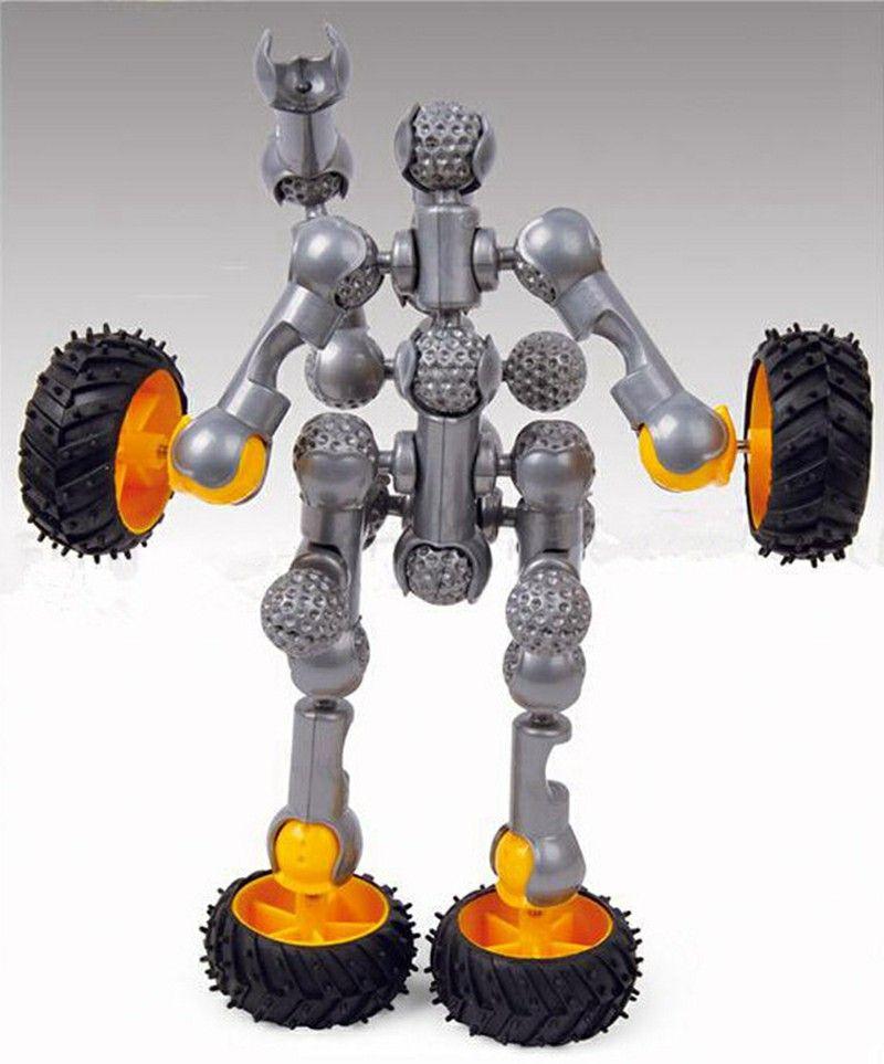 Stick Building Block Sets Car Robot Assembly & Disentanglement Block Puzzle Toy Ages 3+ Preschool Educational Kids Toys