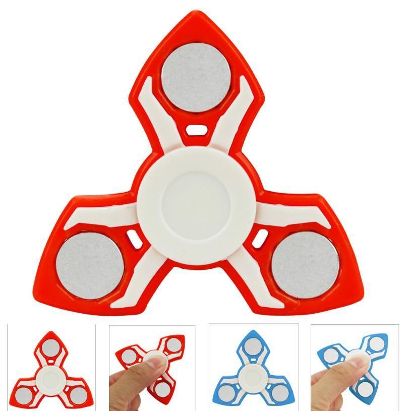 metal fidget spinner gyro Hand Tri Spinner Metal EDC Toy Stocking Stuffer Gift For Kids/Adults fidgetspinner cool fidget spinner
