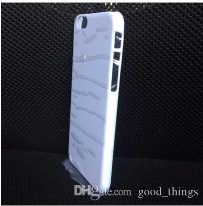 3D Blank sublimation cell phone Case cover Full Area Printed For apple iphone X 8 7 7 plus galaxy s6 s7 s8 edge plus