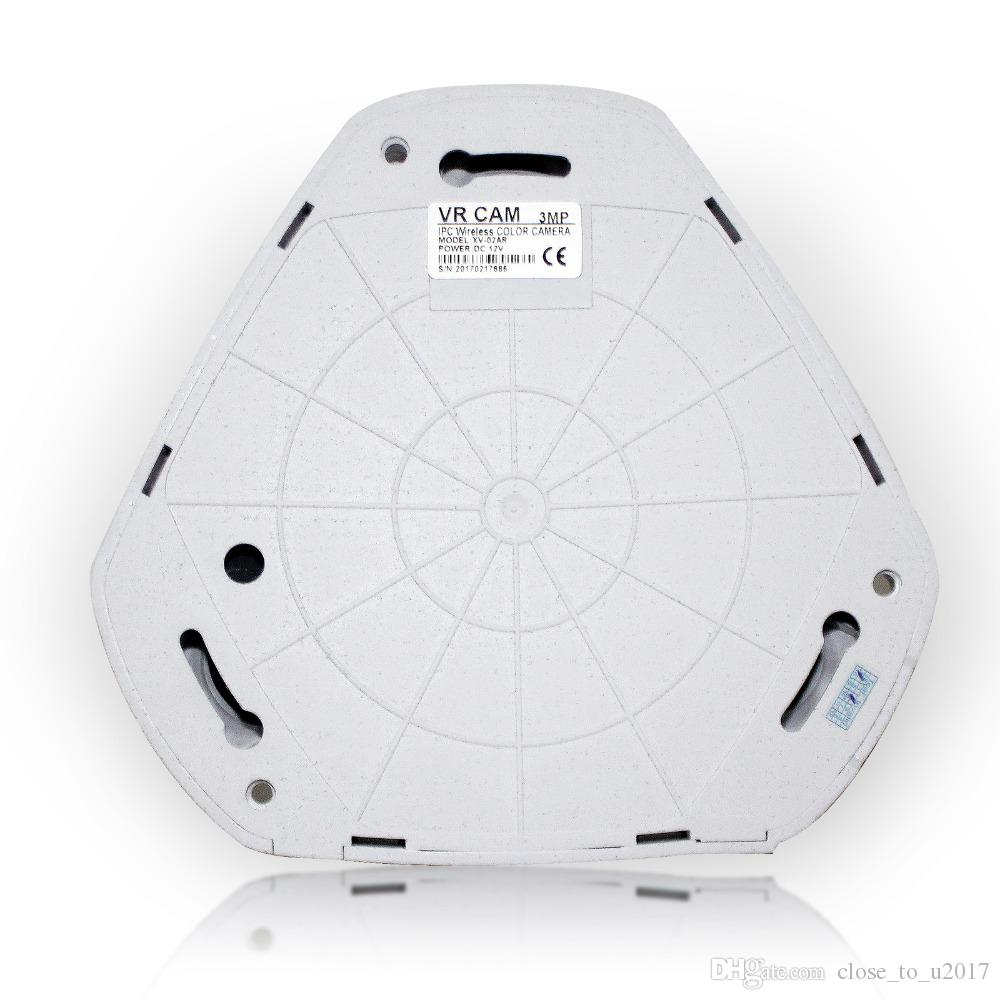 Panorámica de 360 grados Cámara IP panorámica pescado 1080P VR-Fi Ojo de Pez 3.0MP Eye 3D HD PTZ CCTV VR vídeo