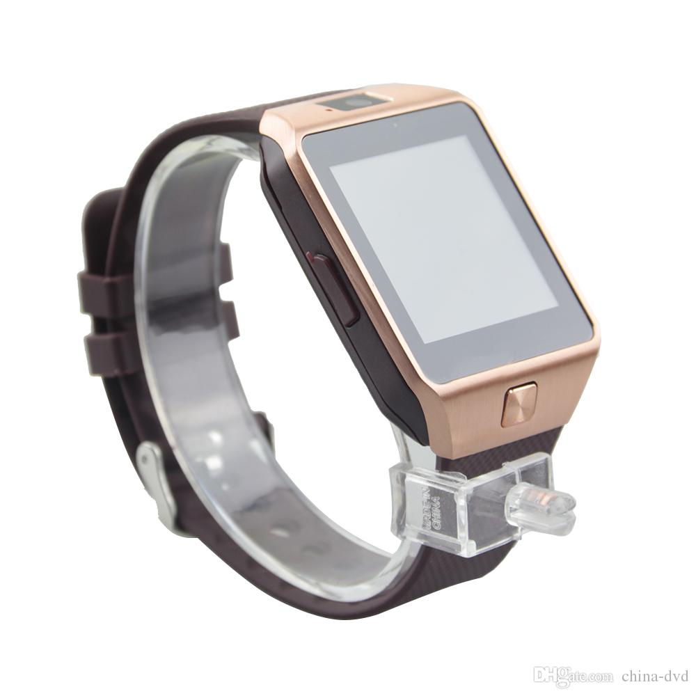 DZ09 Smartwatch Android GT08 U8 A1 intelligente Wristband della vigilanza di SIM intelligente vigilanza del telefono mobile può registrare sonno Stato