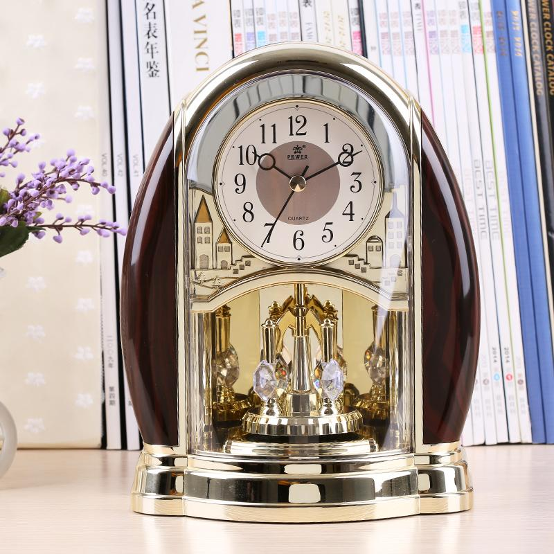 Best Whole Home Decor Desk Clock Modern Design Decorative Table Clocks 3d Watch Vintage Needle Quartz European Style Power4208 Under 88 04