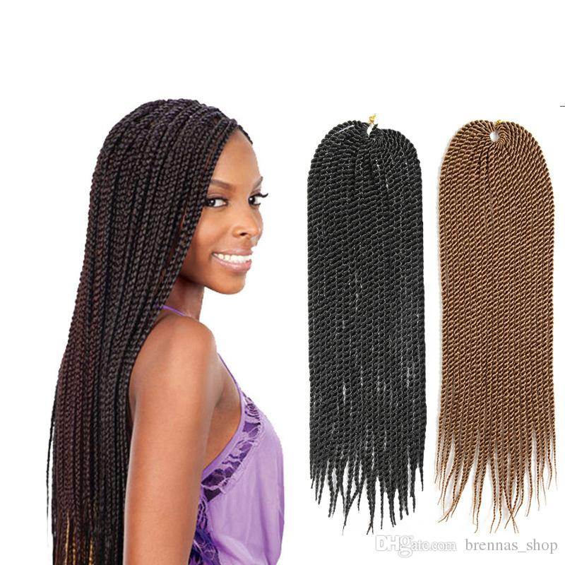 Online Cheap African American Twist Braiding Hair 2x Synthetic Ombre