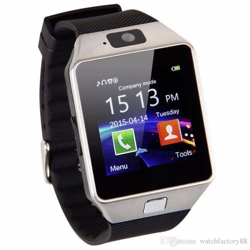 8a75a3dc585 Compre Dz09 Smartwatch Atualização Versão 3G Wifi Bluetooth Smart Watch Sim  Card Com Câmera De Fitness Sono Rastreador Pedômetro Para Android De ...