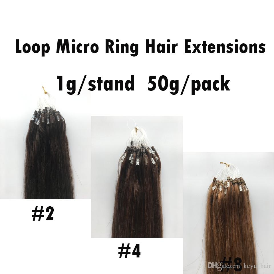 Best Quality Brazilian Remy Hair Loop Micro Ring Hair Extensions 2