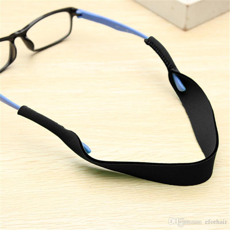 -Sonnenbrille Gurt Neopren-Sport-Sonnenbrille-Glas-Neck Cord Retainer-Bügel Farbe wählen nagelneu