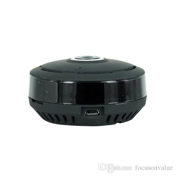 360 grados Wifi P2P mini cámara IP HD 960P cámara de monitoreo panorámica Cámara inalámbrica de vigilancia de seguridad para el hogar con caja de venta al por menor