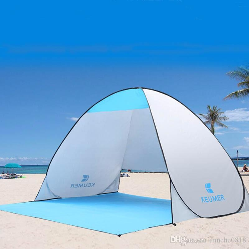 Summer Outdoor Tent Popup Beach Cabana Sun Uv Automatic Protection Cover For 1 2 Person Picnic C&ing Fishing Gelert Tents Festival Tents From Annehe0818 ... : cover tent - memphite.com