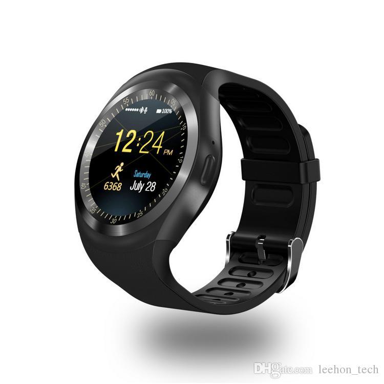 Handy Uhr Mit Sim Karte.Y1 Smart Uhren Handy Mit Sim Karte Bluetooth Anrufe Remote Kamera Nachricht Erinnerung Micro Sd Whatsapp Facebook Für Android Handys