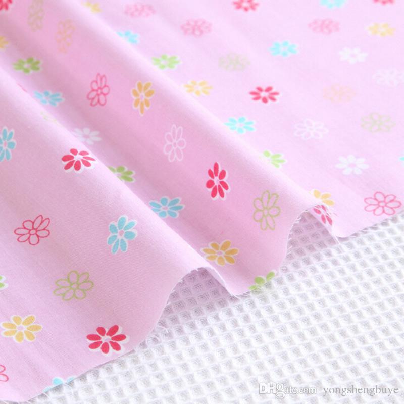 Cotton Flower Pre Cut DIY Handmade Decor Charm Cloth Squares Quilt Household Sewing Fabrics Textiles no1