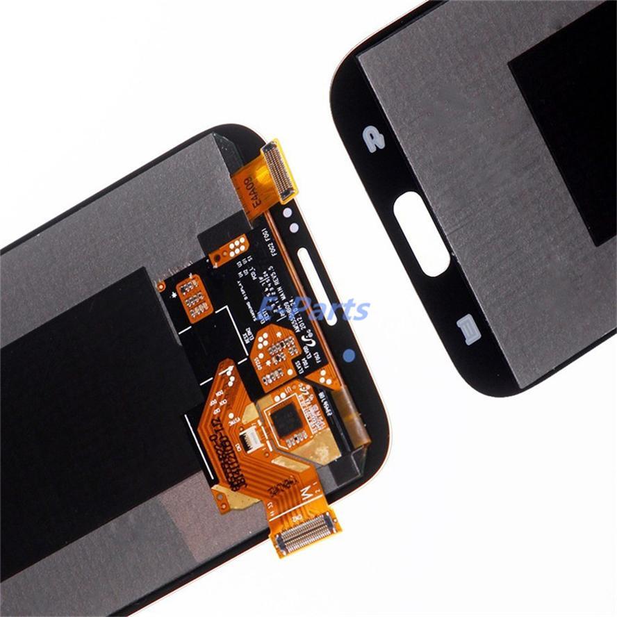 100% Probado Pantalla LCD Original de Trabajo para Samsung Galaxy Note 2 N7100 N7105 T889 i317 i605 L900 Asamblea LCD Digitizador Envío Libre Rápido