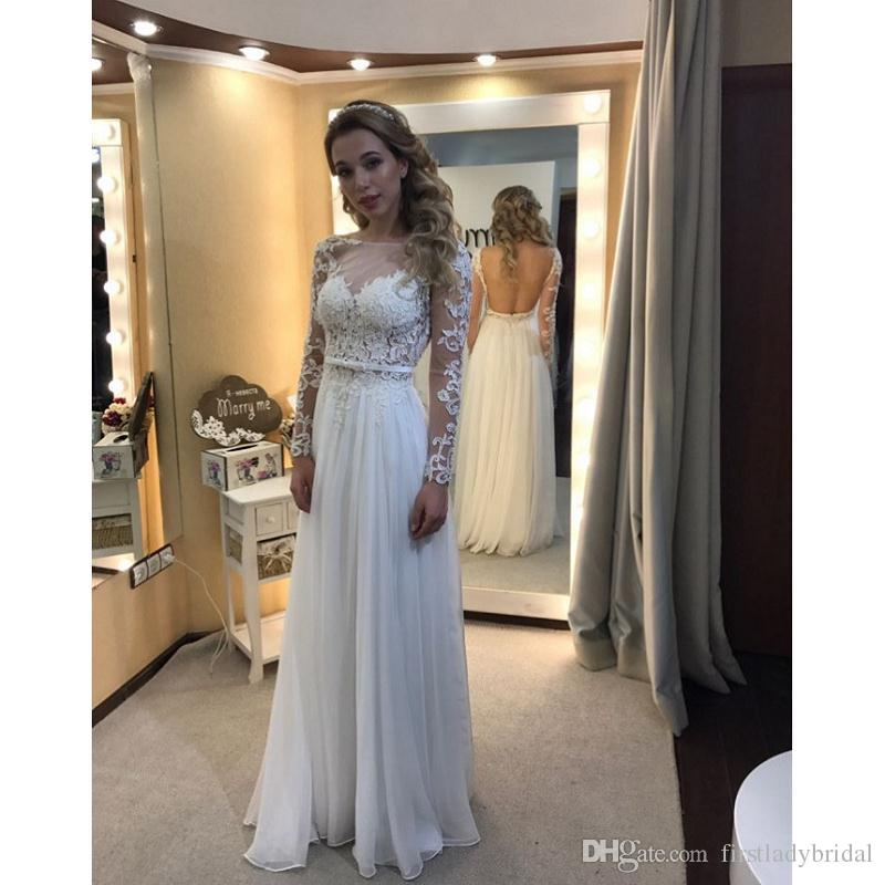 compre vestidos de novia backless de la playa 2017 vestidos de novia