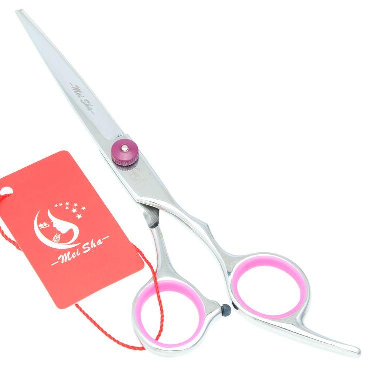 6.0 Inch Meisha Pet Supplies Forbici Pet Cucciolo Cesoie Straight Curve Diradamento Clippers Dog / Cat Haircut Grooming Tools HB0017