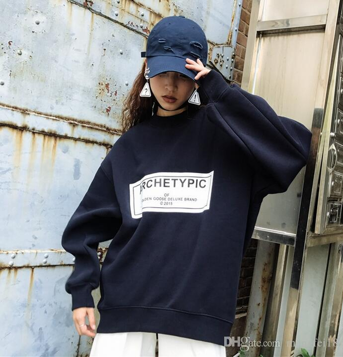 2017 new female in autumn and winter with long sleeved cashmere sweater blouse jacket thick Korean tide