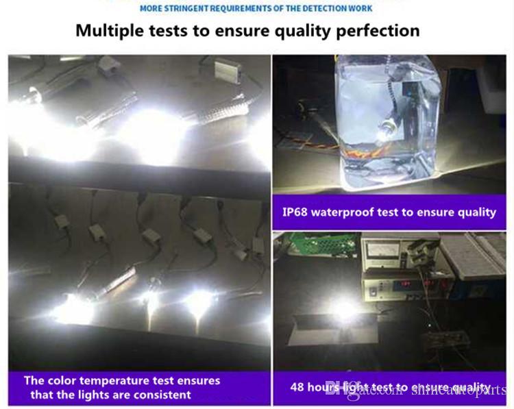 104W 12000LM H1 / H3 / H4 / H7 / H8 / H9 / H10 / H11 / 9005 / 9006 / 9012 CREE LED 헤드 라이트 4300k 6000k 백색광 할로겐 크세논 전구 교체