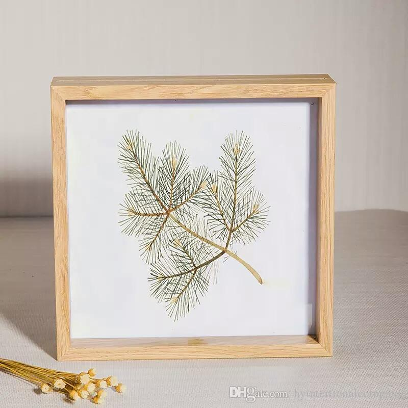 log color modern simple plant specimen double glass frame affordable home accessories african decor from hyintertionalcompany 2379 dhgatecom - Double Glass Frame