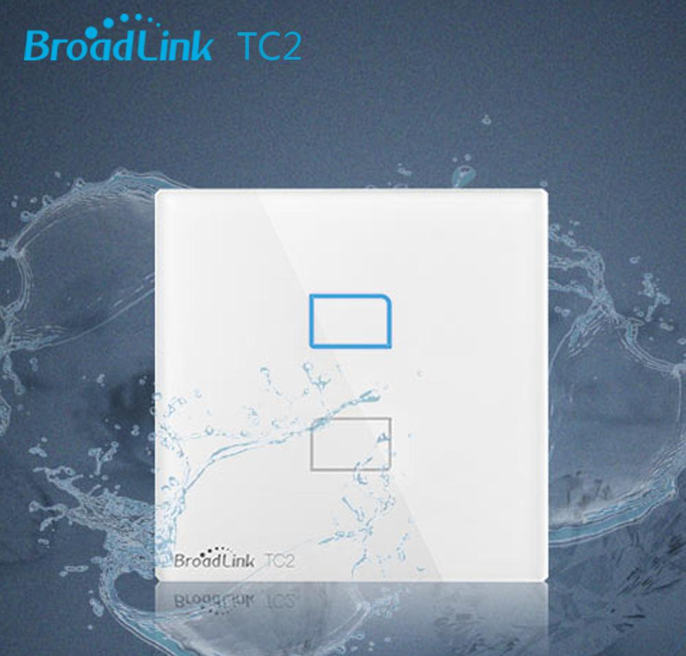 Wholesale Smart Home Broadlink Tc2 1gang 2gang 3gang Rf 433mhz Wall Wiring A Light Switch 1 Gang Wireless Control By E Single Live Wire Connection Automation