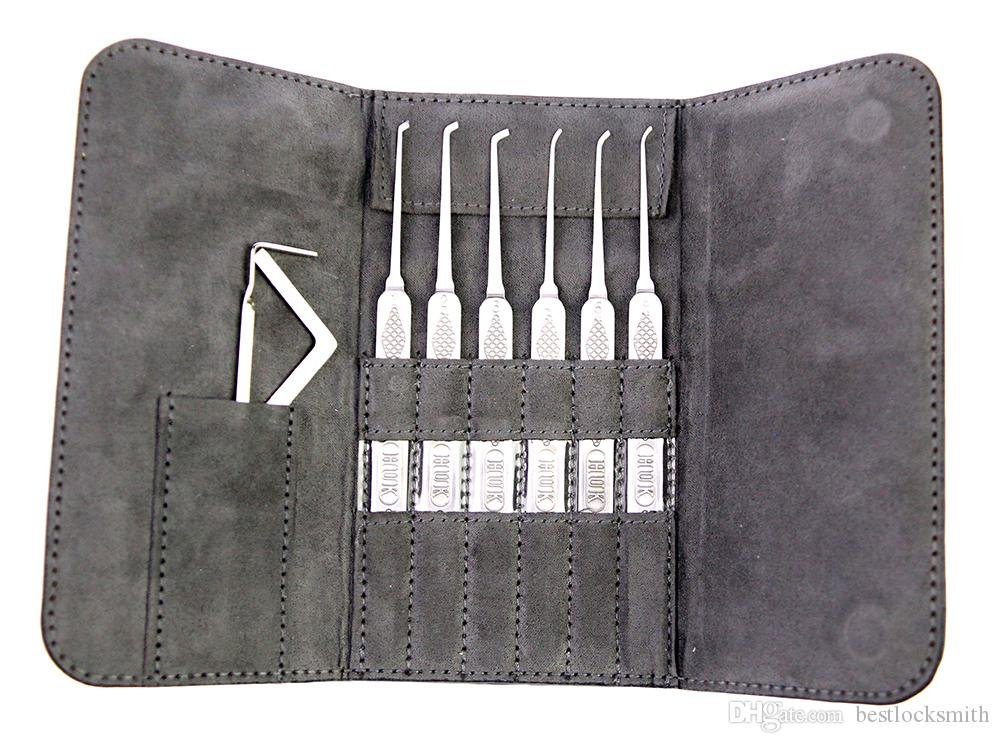 Nuovo arrivo HUK acciaio Super Picks Set fabbro strumenti Lock Picks Tool Lockpick raccolta set di blocco