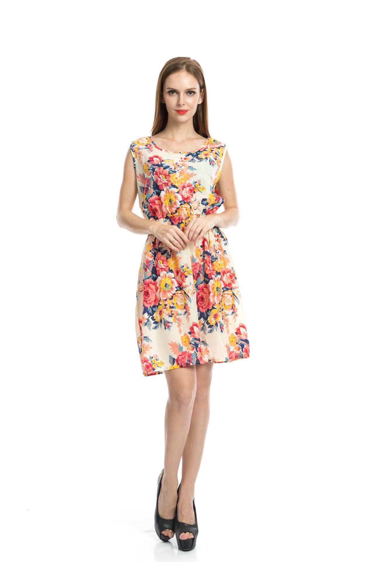 1963dbf8d3 Newest fashion Women Casual Dress Plus Size Cheap China Dress Designs Women  Clothing Fashion Sleeveless Summe Dress Free Shipping