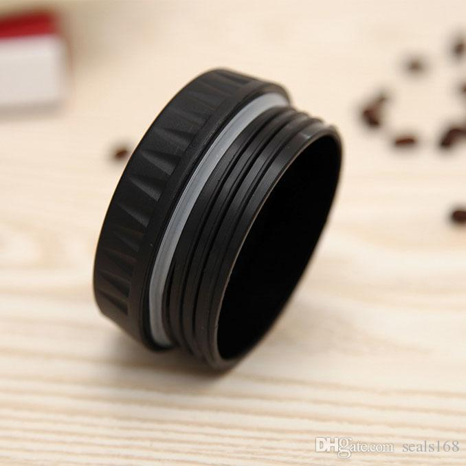 Camera Lens Cup 400ml Coffee Mug Stainless Steel Liner Tea Cup 5 Generation Tumbler Travel Mug SLR Lens Bottle Novelty Gifts HH-C23