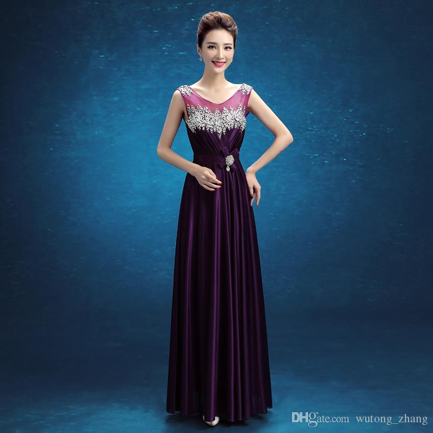 Brand New Evening Dresses Sleeveless Princess Girls Women A Line Prom Party Pageant Graduation Formal Dress/Gown