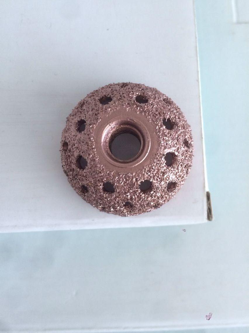 38mm wheel repair tools/tire repair grinding/coarse grit buffing wheel