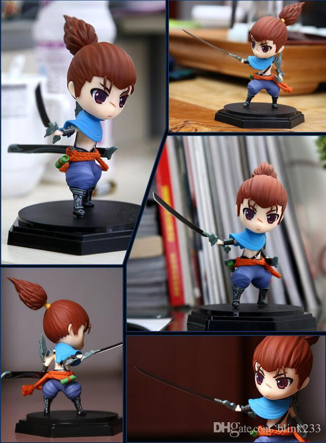 Cute Yasso League of Legends Action Figure Toys Kawaii Collect Game Anime Model Garage Kit with box gifts by