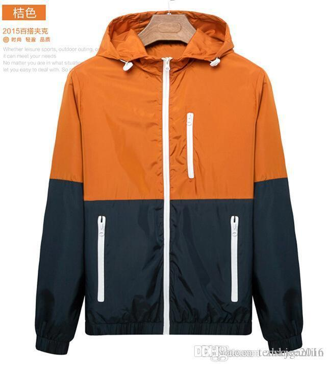 New Men'S Fashion Football Jackets Adult'S Outdoor Leisure Soccer ...