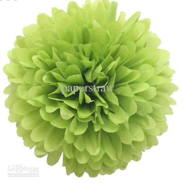 2019 8inch 20cm Colorful Tissue Paper Flower Ball Tissue Paper Pom