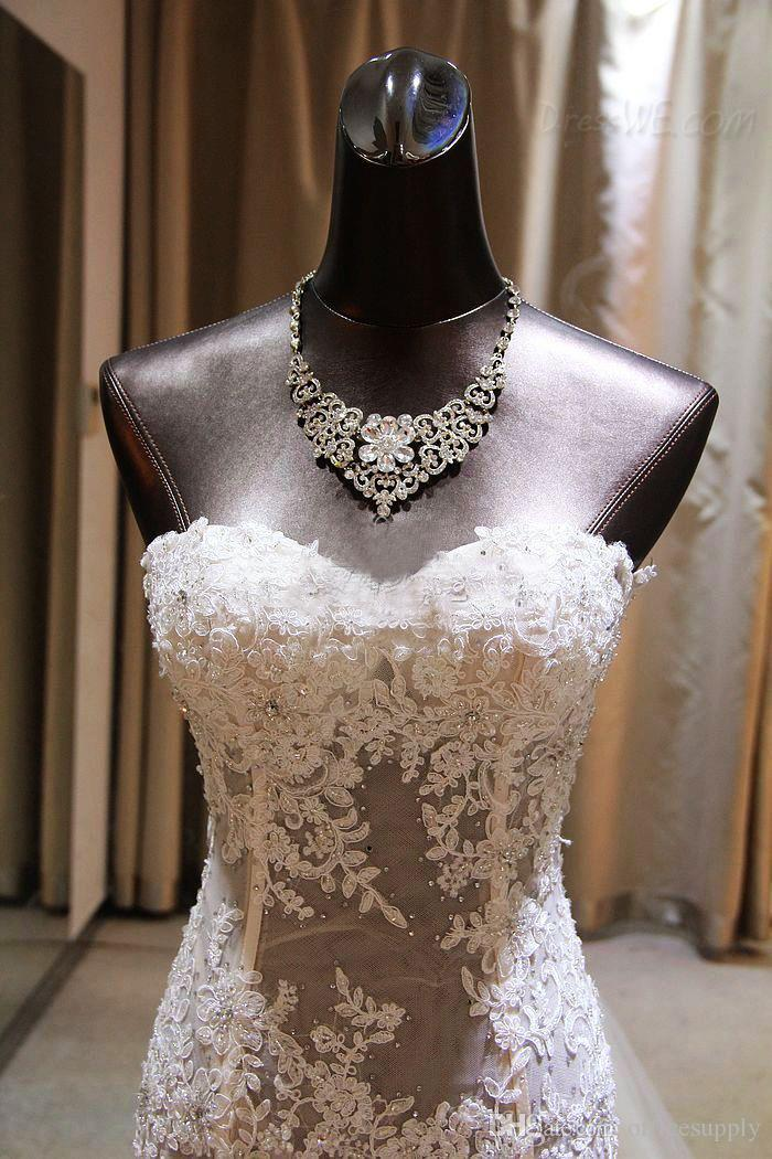 2019 Sexy Mermaid Wedding Dress Sweetheart Neck Lace Appliques Beaded Layered Skirt Backless Gorgeous Trumpet Bridal Gowns