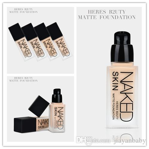 Best Foundation For Wedding | New Brand Makeup Heres B2uty Naked Face Foundation 30ml Dhl Gift