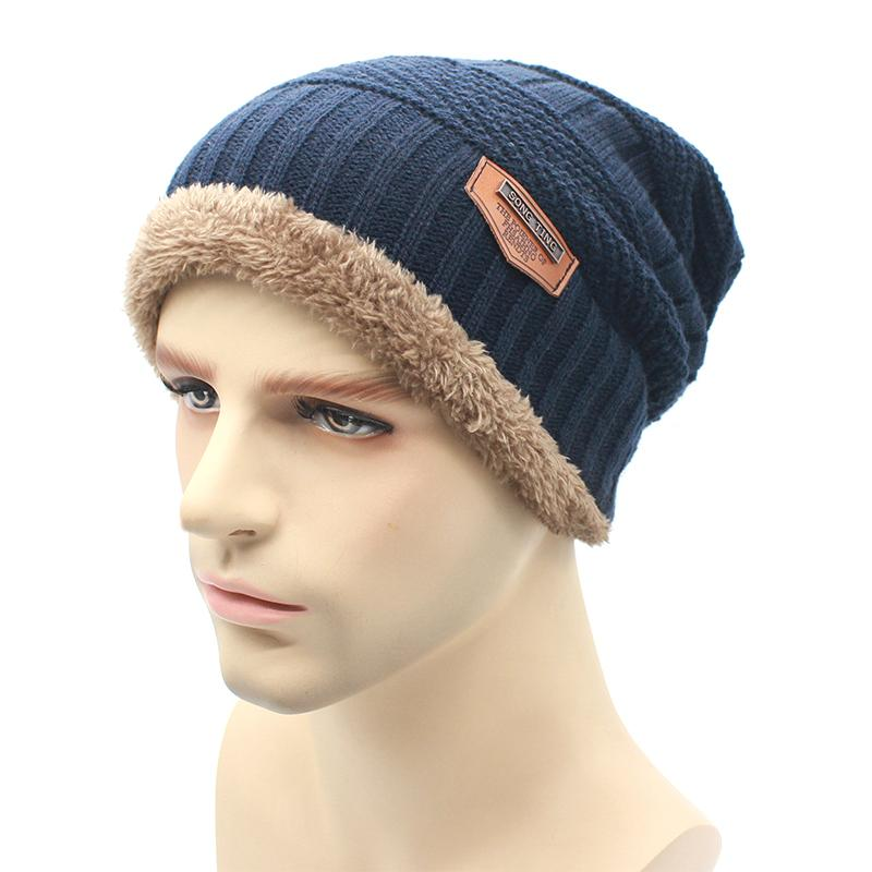 2016 Fashion Knit Beanie Warmer Knitted Winter Hats For Men Women Caps Warm  Bonnet Knit Beanie Cap Shop From Shuiyan168 a90fd417ec7