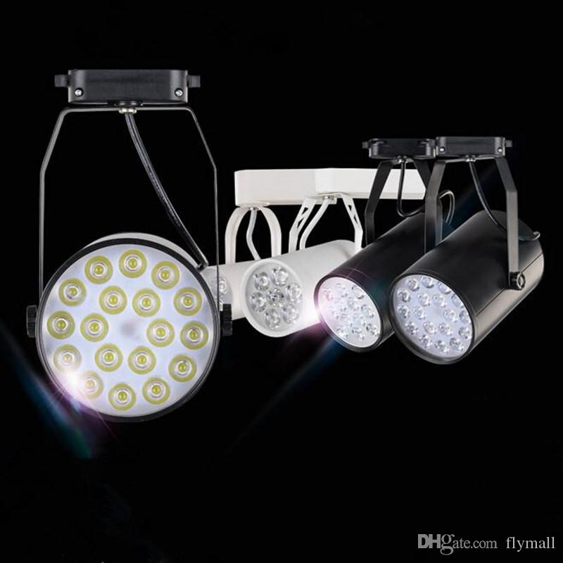2018 high power cool white led track light 6w 10w 14w 24w 36w 120