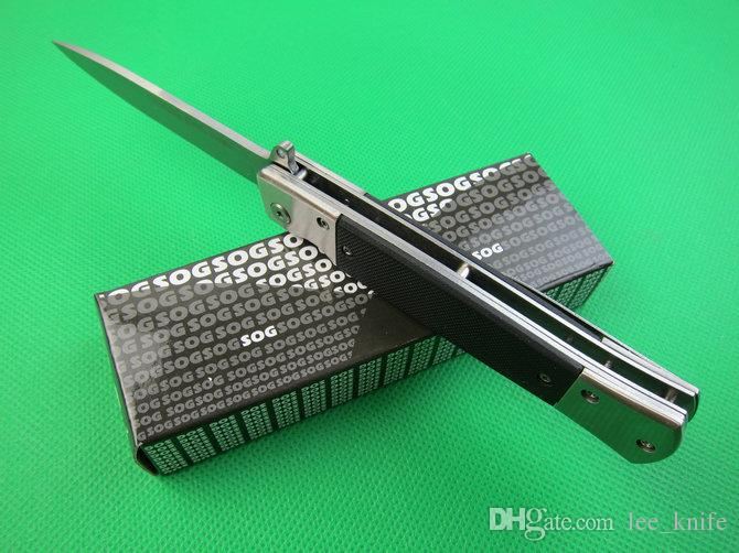 coltello caldo SOG.KS931A versione in pietra e acciaio di campeggio di caccia selvaggia regalo gratuito