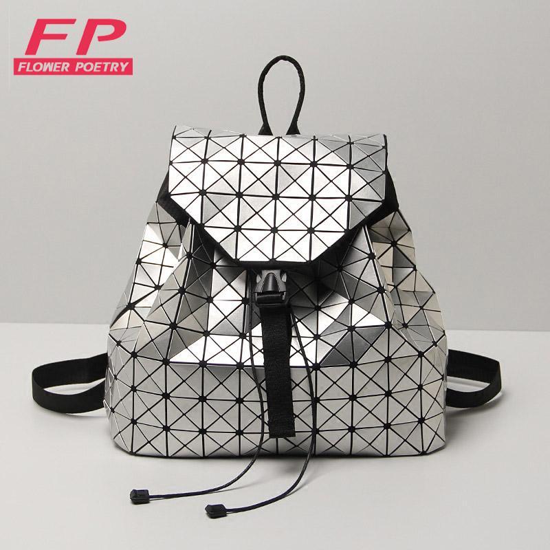 Wholesale Hot Sale Laser Geometric Bao Bao Women Backpack Bags Women  Fashion School Bag Folding Sequins Girl Shoulder Bag Daily Backpacks  Backpacks For ... 16122c4332e36