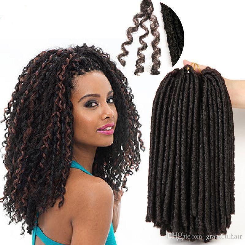 Soft dreadlocks crochet braid hair extensions ombre braiding hair 50 pmusecretfo Image collections