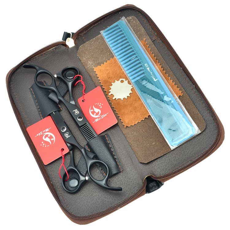 6.0Inch Meisha JP440C Professional Hairdressing Scissors Kits Hot Hair Cutting Shears Barber Scissors with Hairdresser Bag,HA0213