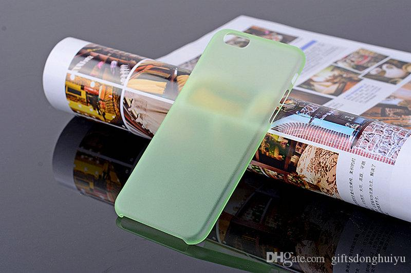 Iphone cover case cell phones protector ultrathin 0.3 dull polish transparent iphone case