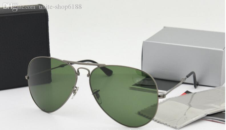 Top quality Folding Sunglasses glass Lens glasses Mens brand designer Sun glasses unisex Sunglasses Women's Folding glasses