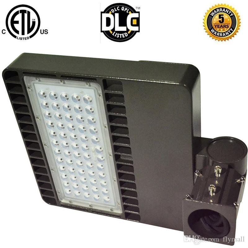ETL DLC LED Parking Lot Light Shoe Box Lamps Shoebox Light Parking Area Lamp Led Floodlight Street Light 48W 100W 200W 300W led retrofit kit