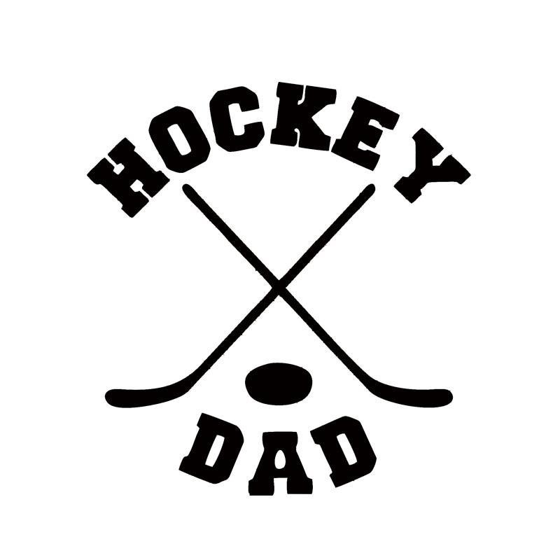 2018 Car Stying Vinyl Hockey Mom Or Hockey Dad Car Window