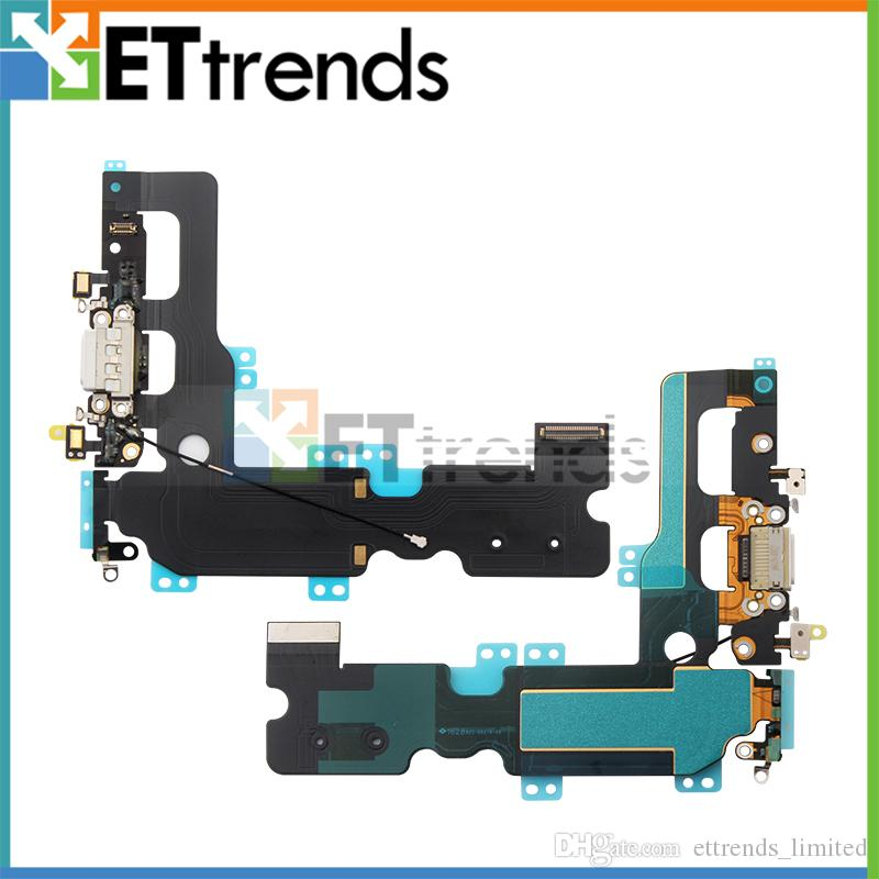online retailer afb40 8f8e2 High Copy Charging Port Flex Cable for iPhone 7 Plus AD1298 Good Quality  Repair Parts DHL Free Shipping