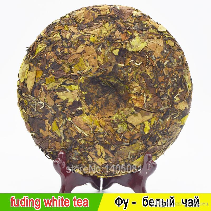 350 sourcils de thé blanc organique montrent le gâteau des États-Unis Fuding compressé thé blanc gâteau + cadeau mystère