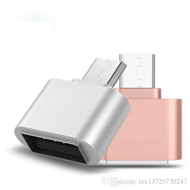 OTG Hug 2.0 Converter OTG Adapter Micro USB to USB Hub for Mini Android Gadget Phone Cable Card Reader Flash Drive Wire