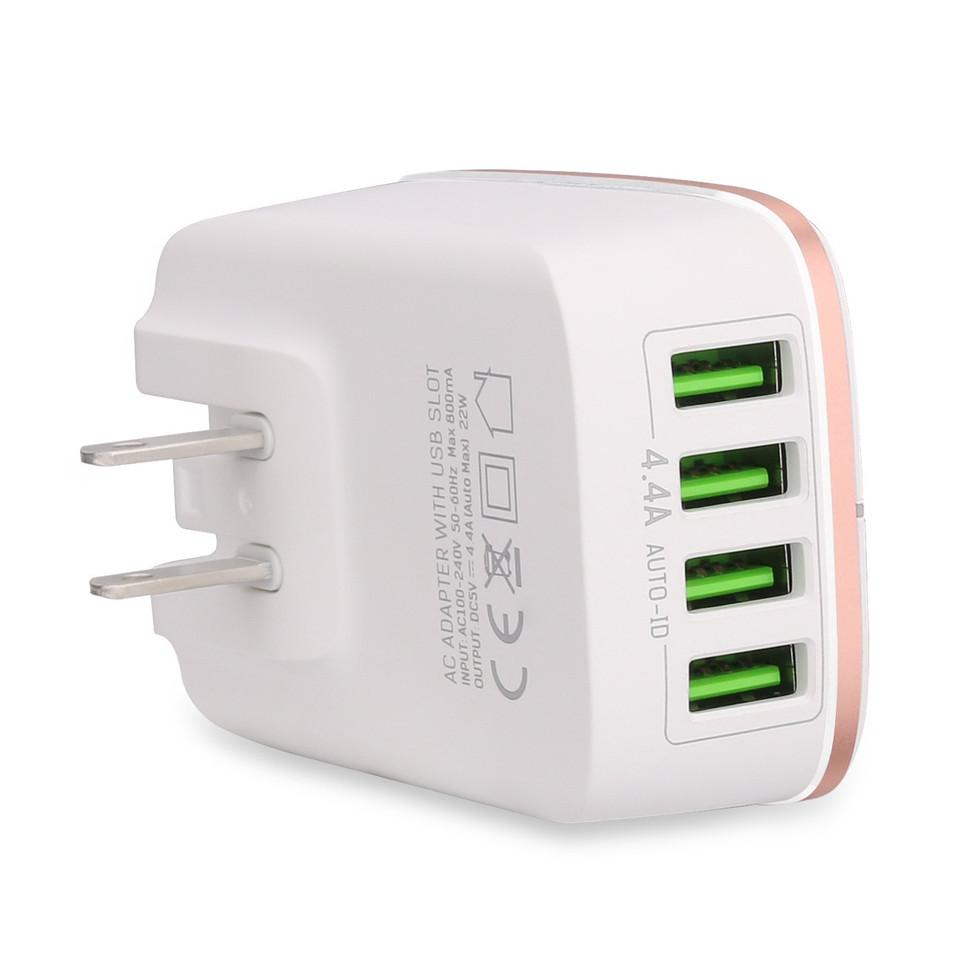 Welllon 22w 4 Usb Charging Port, Multi Port Charger