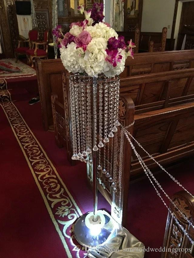 aisle stands weddings/flower pillars stands /crystal stands for big weddings